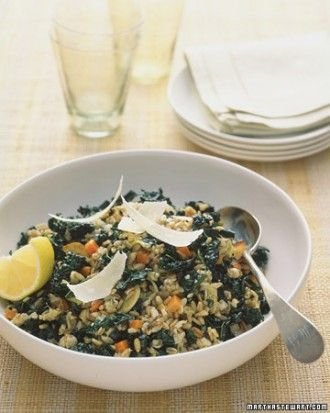"""See the """"Savory Oat Groats and Kale"""" in our Healthy Kale Recipes gallery"""