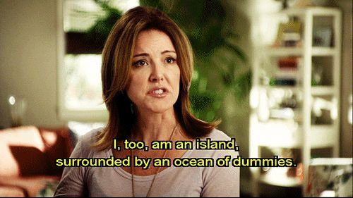 "On surviving the workplace | Community Post: 20 Times ""Cougar Town"" Was The Most Relatable Show On TV"