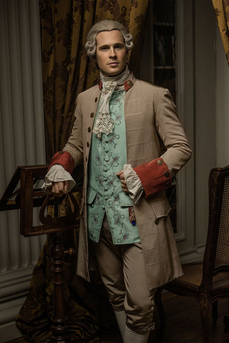 A new portrait of Lord John Grey (David Berry) has been released for season three. It shows Lord John at the Governor's ball in Jamaica. Source: Starz