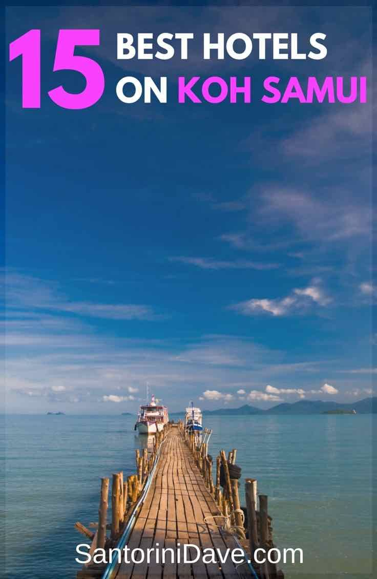 A guide to the best hotels on koh samui thailand around the world research pinterest koh samui thailand and samui thailand
