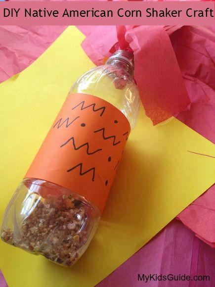 Frugal Cultural Craft for Kids: DIY Native American Corn Shaker