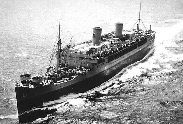 War Bride Ships 66