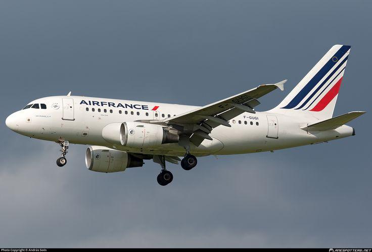 F-GUGI Air France Airbus A318-111
