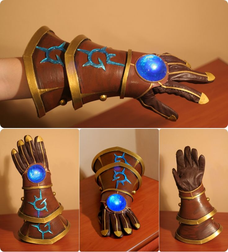 League of Legends - Ezreal 's Glove by Shappi.deviantart.com on @DeviantArt