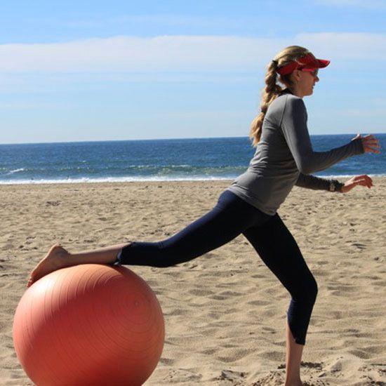 Full-Body Beach Workout With Olympian Kerri Walsh