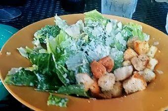 Caesar Salad at Mellow Mushroom http://goo.gl/j9gmTh