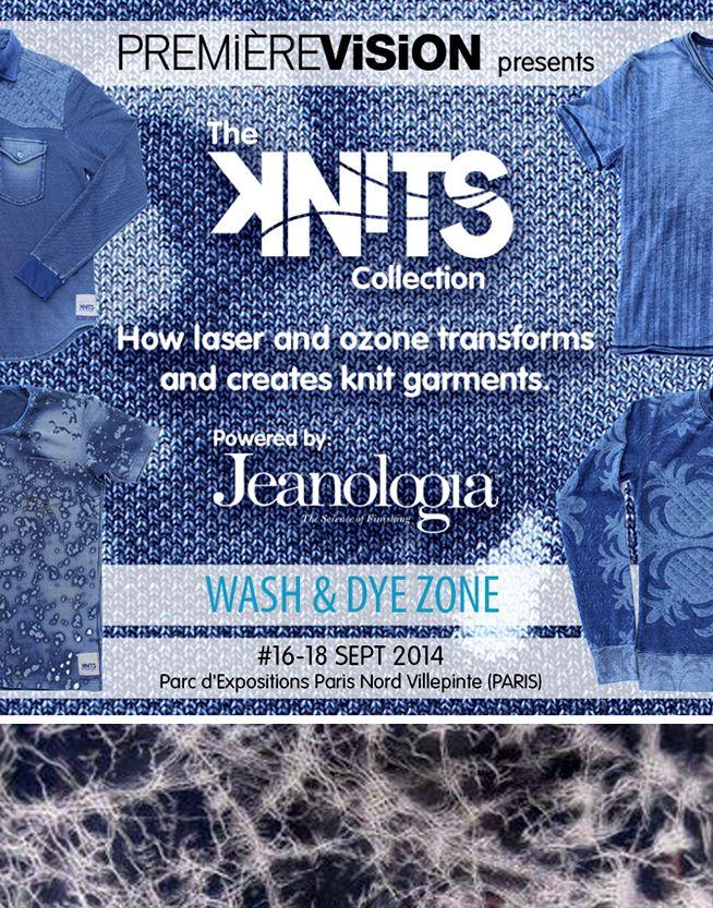 Jeanologia présente en collaboration avec Première Vision Paris l'exposition JKnits à travers le thème du Wash & Dye.