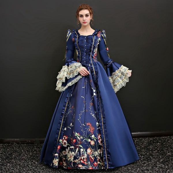 17th Century Woman Royal Dress Royal Dresses Dress Clothes For Women Ball Gowns