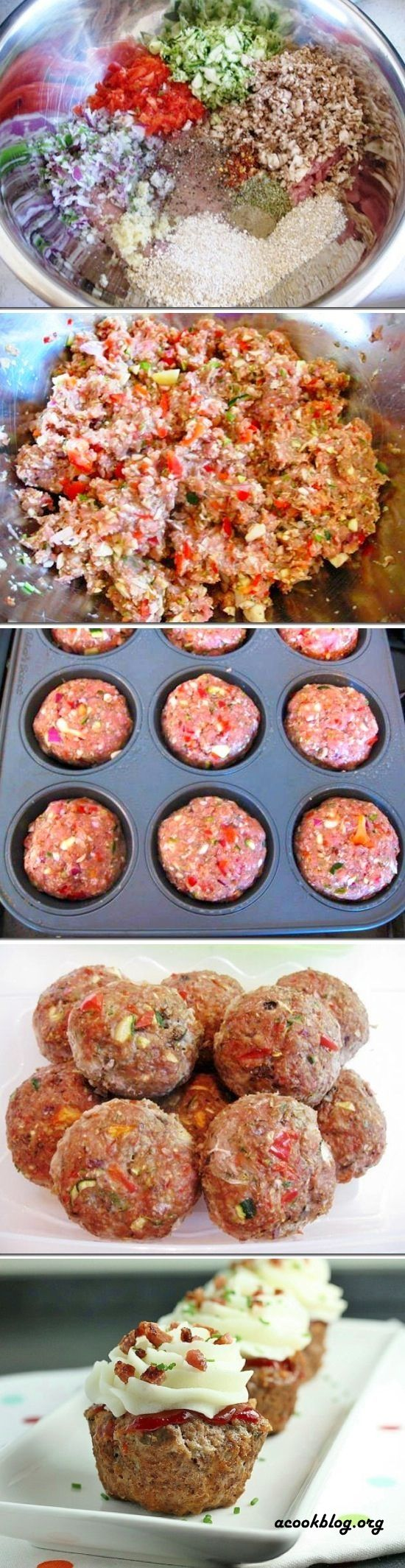 Meatloaf Cupcakes - but with MY meatloaf recipe