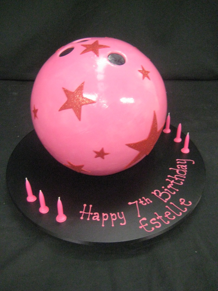 1000 Images About Bowling Ball Cake Ideas On Pinterest