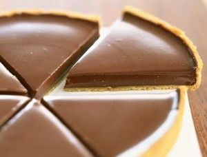 Tarte au chocolat de Frédéric Anton (Chef trois étoiles du Pré Catelan Paris et Meilleur Ouvrier de France):