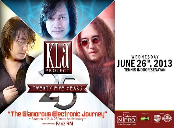 Jual Tiket Konser KLA PROJECT Konser 25th The Glamorous Electronic Journey - www.tarratix.com