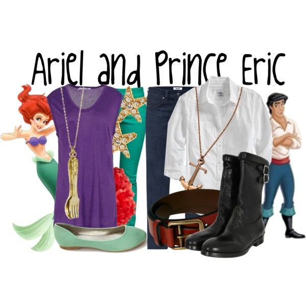 """""""Ariel and Prince Eric"""" by jami1990 on Polyvore"""