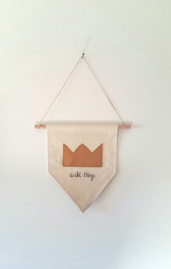 I'LL EAT YOU UP !!! Wild thing Canvas Wall Banner Childrens Wall by aspenandoak ☆☆FREE SHIPPING ☆☆ SHOP SMALL SATURDAY!!YAY
