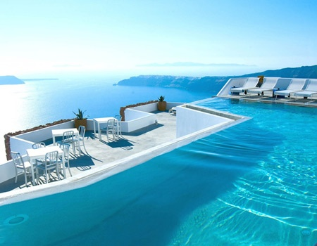 Yes please: Hotel in Santorini, Greece