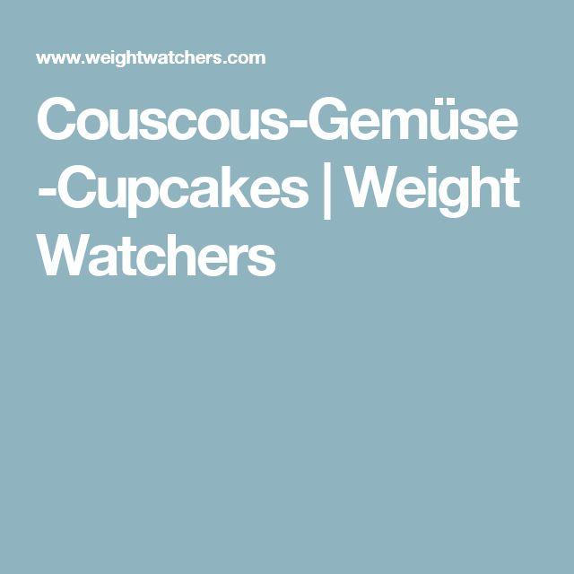 Couscous-Gemüse-Cupcakes   Weight Watchers