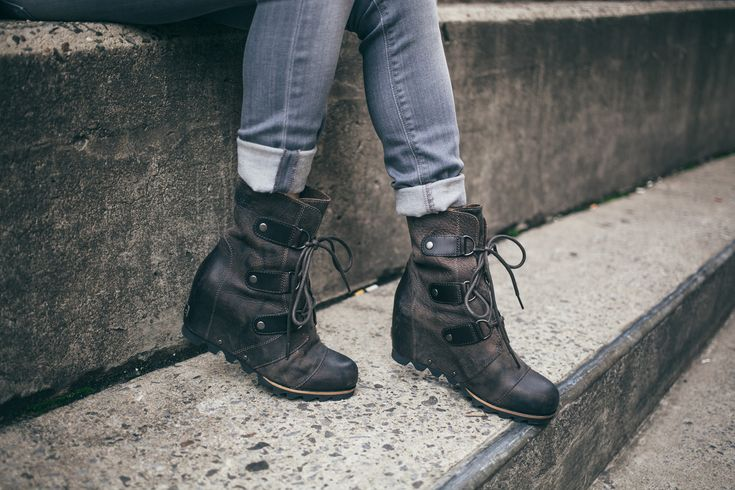 how to wear sorel joan of arctic wedge - Google Search