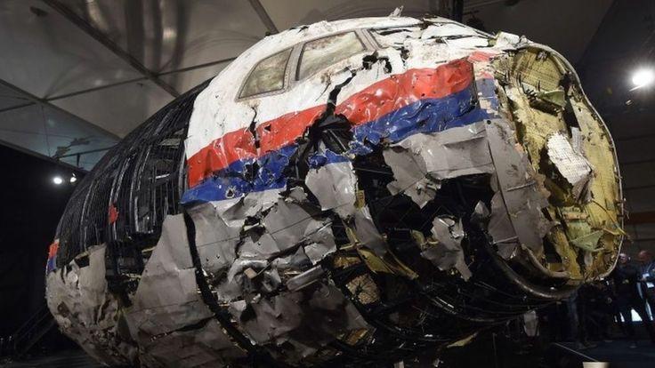MH17 Ukraine disaster: Dutch Safety Board blames missile - BBC News