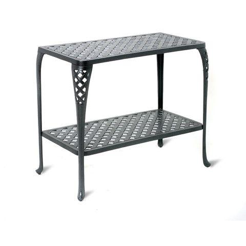 Charming Cast Aluminum Console Table   Outdoor, Patio Furniture Toronto, Waterloo,  Ottawa   Hauser