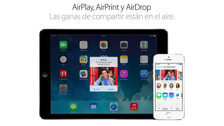AirDrop #PorqueunaMac #Apple #iPad