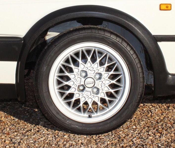 "Volkswagen Golf Mk2 GTi with 56k miles - 15"" BBS RA alloys"