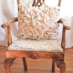 Recovering a chair cushion is easier than you might think. The payoff is especially sweet when you find the perfect fabric at a great deal.