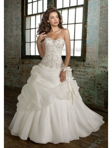 Pure Perfection Leek - WAL71 - A Line - Wedding Dresses
