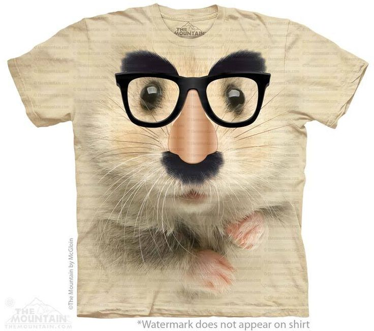 Hamster of Mystery T-Shirt - T-Shirt with Pets - Cute T-Shirts - Animals t-shirts for women - t-shirt present idea - small pet t-shirts - t-shirts with small pets for kids - kids clothing