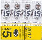 4 Penn State vs. Michigan Football Tickets with Yellow Parking Pass 10/21/2017