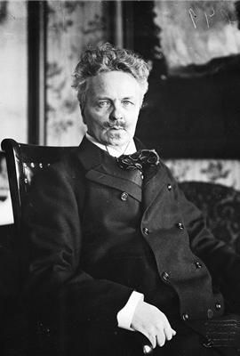 Johan August Strindberg (1849–1912), was a Swedish playwright, novelist, poet, essayist and painter. He explored a wide range of dramatic methods and purposes, from naturalistic tragedy, monodrama, and history plays, to his anticipations of expressionist and surrealist dramatic techniques. He developed forms of dramatic action, language, and visual composition so innovative that many were to become technically possible to stage only with the advent of film.