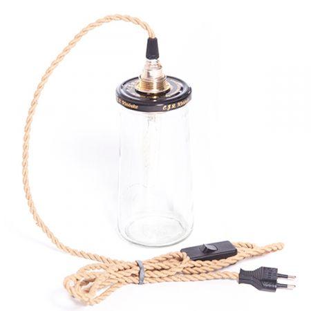 Pi di 25 fantastiche idee su lampada barattolo su - Cavo con lampadine da esterno ...