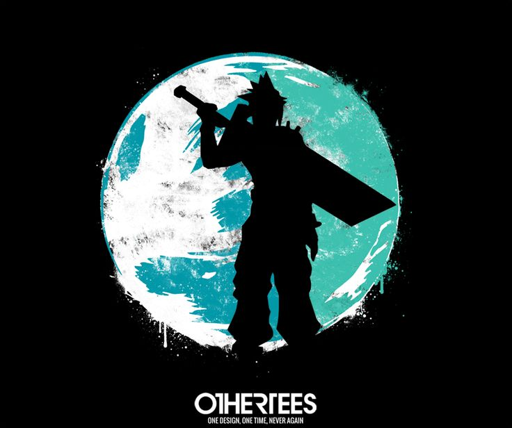 """Cloud Cover"" by Art-Broken T-shirts, Tank Tops, V-necks, Sweatshirts and Hoodies are on sale until March 10th at www.OtherTees.com #finalfantasy #nintendo #games #gaming #othertees"