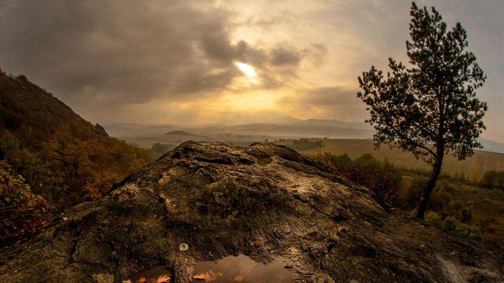 evening Czech Central Mountains (České Středohoří) by Vlastimil MoDDO Vanek on 500px