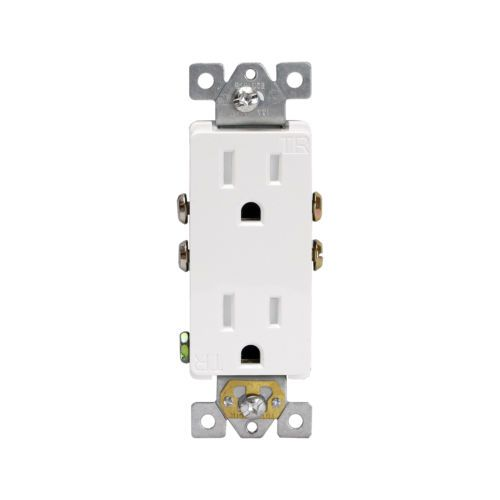10PK-Decorator-Tamper-Resistant-15A-White-Receptacles-TR-Child-Safe-Outlets