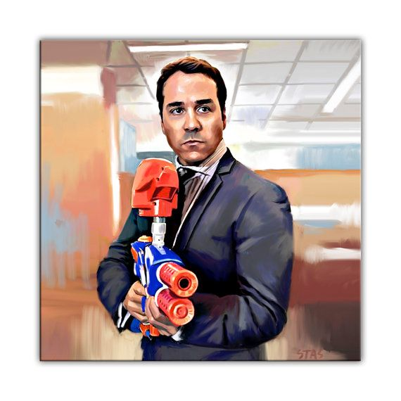 ARI GOLD Entourage show photo poster canvas art giclee oil painting print