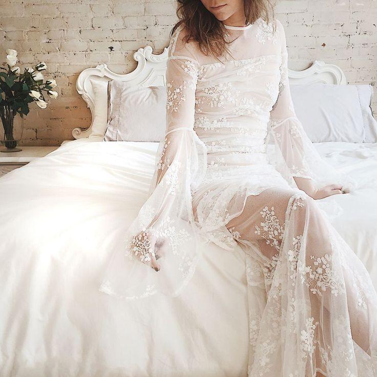 Just in! Calia is the perfect romantic dress  #boudoir1861 #wedding #weddinginspiration #boho #getinspired #vintage #bridesmaids #bride #decoration #dress #elegant #beautiful #whitedress #vintagedress #simpledress #pretty #white
