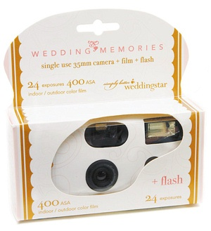 Disposable Wedding Camera from Wedding Favors Unlimited