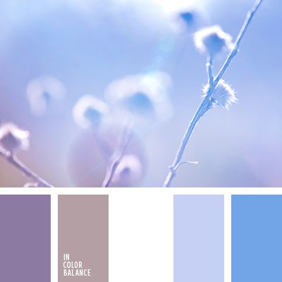 Refreshing coolness of blue and blue colors in the palette of muted neutral white, which serves as a bridge-organic transition to pale lilac shade composition. The perfect combination of colors for the set of makeup for women. It is noteworthy that eyeshadow calm cornflower blue with hardly guess rozovinkoy suit and blue-eyed blonde, and brown-eyed brunette.