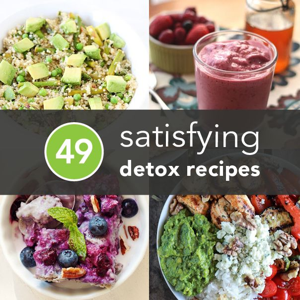 It's time to stop fearing the detox — start 2014 the right way with some of these healthy (and, more importantly, delicious) recipes.