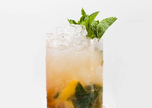 Classic Whiskey Smash | Recipe By: Damon Boelte | his drink is