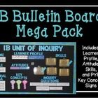 Save money with this IB bulletin board set!  If you teach in an IB school you need to have an IB bulletin board.  This mega pack contains what you ...