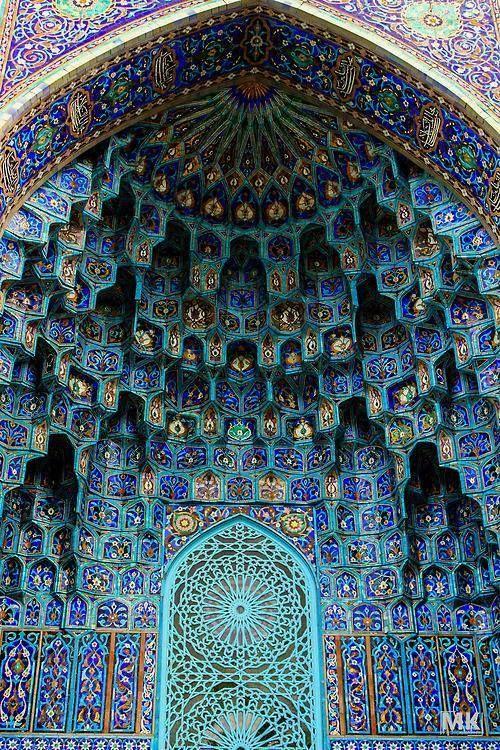 A mosque called Shah Cheragh in Shiraz, Iran.