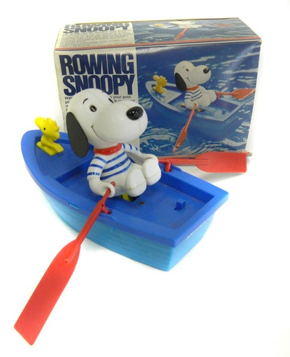 Rowing Snoopy Toy Model Number 107 Concept 2000 in Original Box 1970s Vintage | eBay