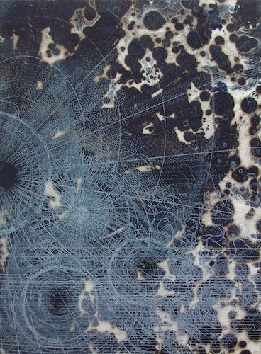 Louisa Boyd | Cartology - 2010 | Two plate etching
