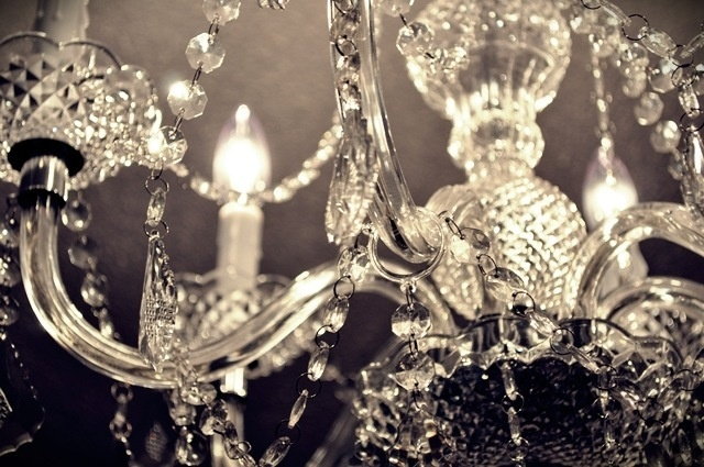 Chandeliers for barn, bathroom, and bridal suite - need 10