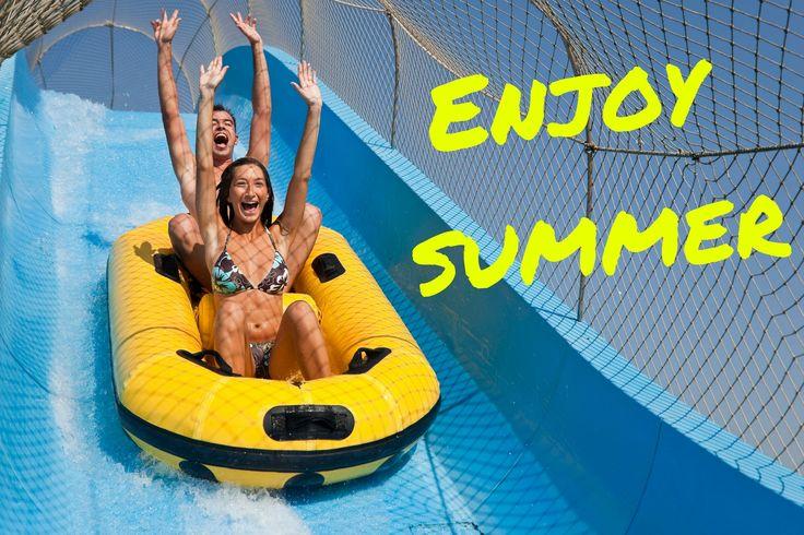 Aquest estiu està prohibit no divertir-se! Bona setmana a tothom! #waterworldlloret #waterpark #lloretdemar #viulloret #costabrava