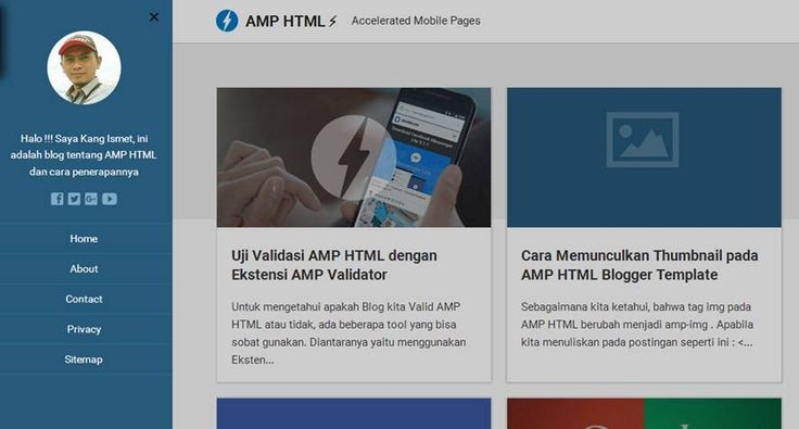 AMP-HTML-blogger-template