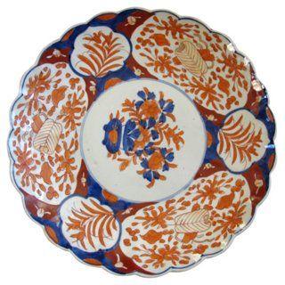 Antique Japanese Imari Porcelain Charger  sc 1 st  Pinterest & 139 best Antique - Japanese Imari Beauty images on Pinterest ...