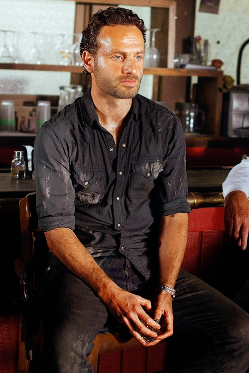 Rick - The Walking Dead--I just want a husband that will be able to protect me during a Zombie Apocalypse