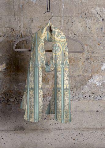 Cashmere Silk Scarf - Venice 2 by VIDA VIDA LSwE9ixRgG